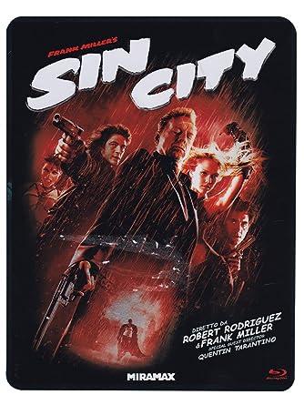 Sin City Rated + Unrated Version 3 Blu-Ray Ltd Metal Box Italia Blu-ray: Amazon.es: Jessica Alba, Rosario Dawson, John Debney, Benicio Del Toro, Michael Clarke Duncan, Carla Gugino, Josh Hartnett, Jaime King,