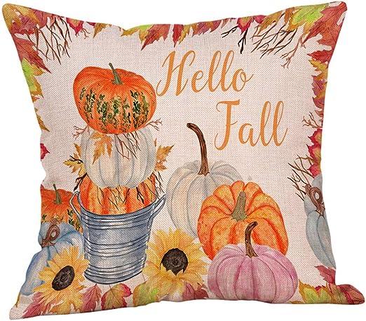 Amazon.com: Arystk - Funda de almohada para decoración del ...