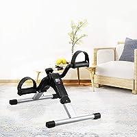 Mixen Desk Cycle - Foot Pedal Exerciser - Foldable Portable Foot, Hand, Arm, Leg Exercise Pedaling Machine - Folding Mini Stationary Bike Peddler, Fitness Rehab Gym Equipment for Seniors, Elderly, PT