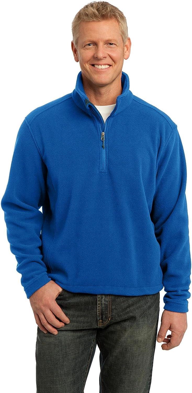 Port Authority Mens Value Fleece 1//4 Zip Pullover