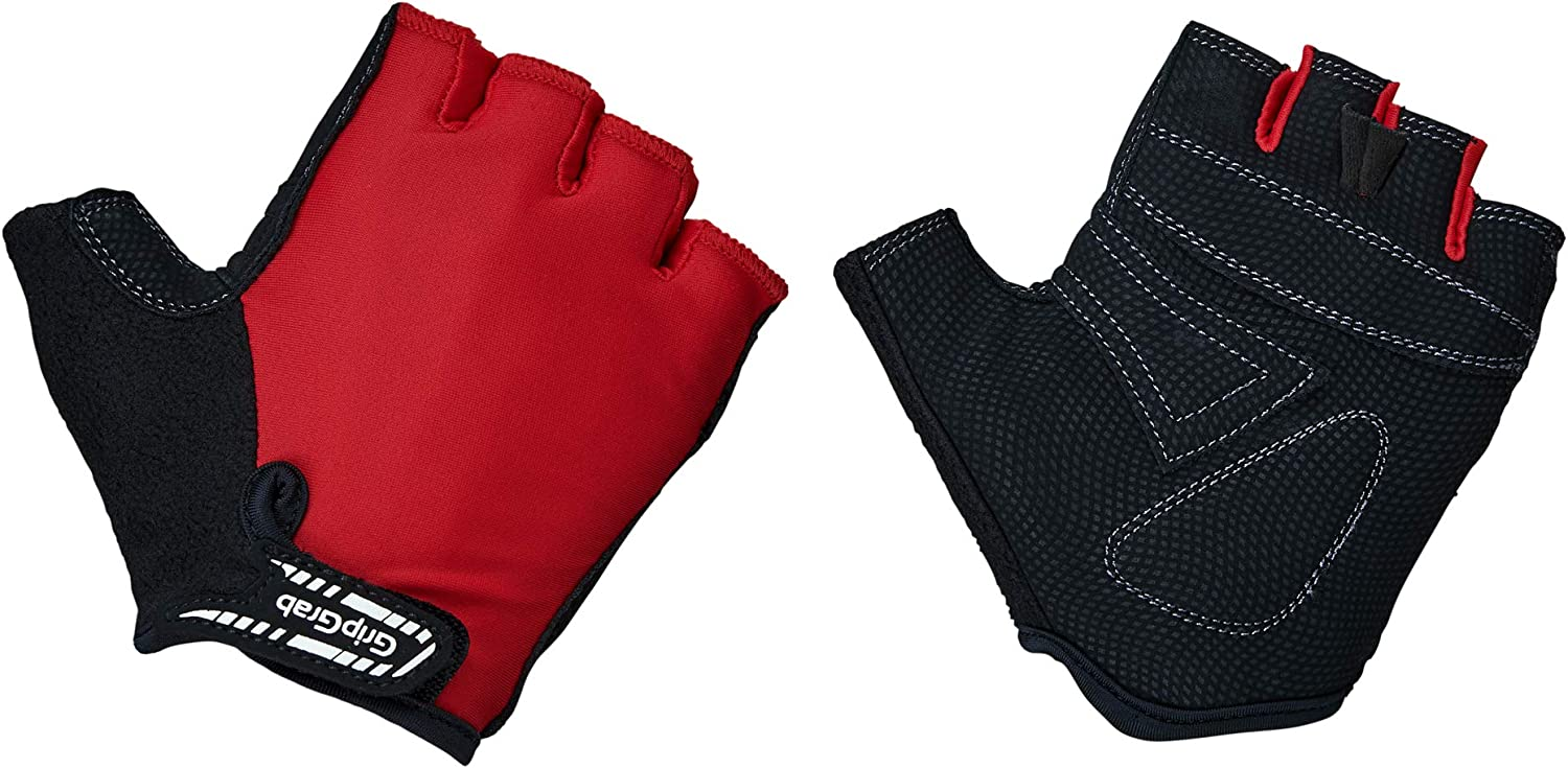 GripGrab X-Trainer Junior Kids Short Finger Padded Cycling Gloves