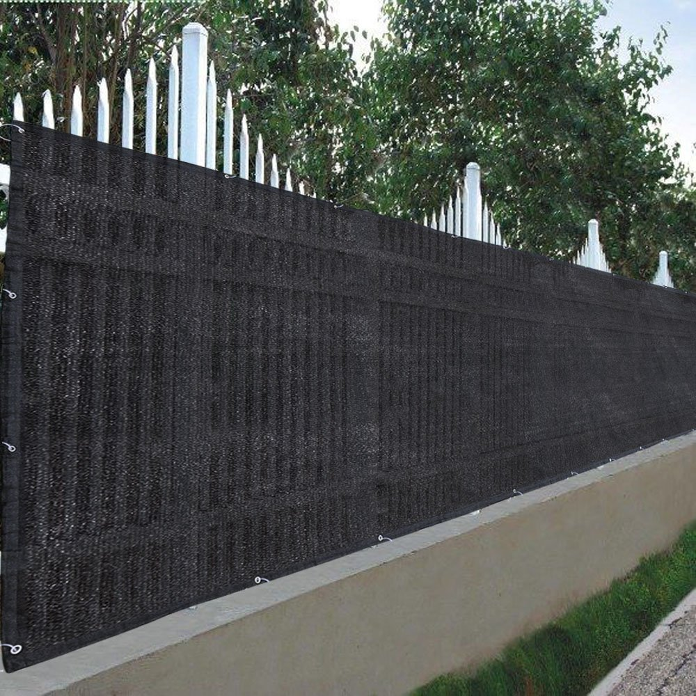 amazon com yescom 25 u0027x4 u0027 privacy fence screen fabric mesh