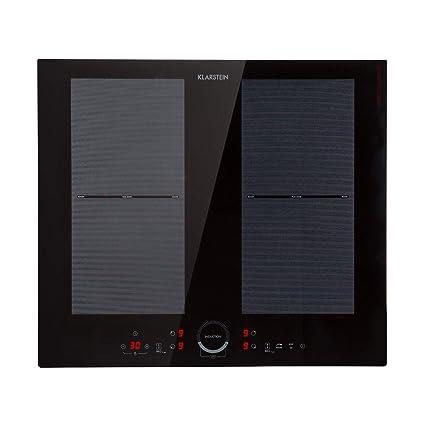 Klarstein Delicatessa 60 Placa de cocina • Placa de inducción • Fogón para empotrar • 4