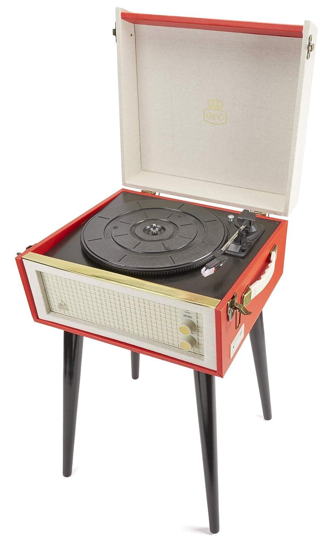 Tocadiscos GPO Bermuda Record Player Tocadiscos de vinilo de ...