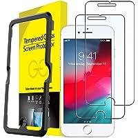 JETech Protector de Pantalla para iPhone 8 Plus, iPhone 7 Plus, iPhone 6s Plus, iPhone 6 Plus, Vidrio Templado, con…