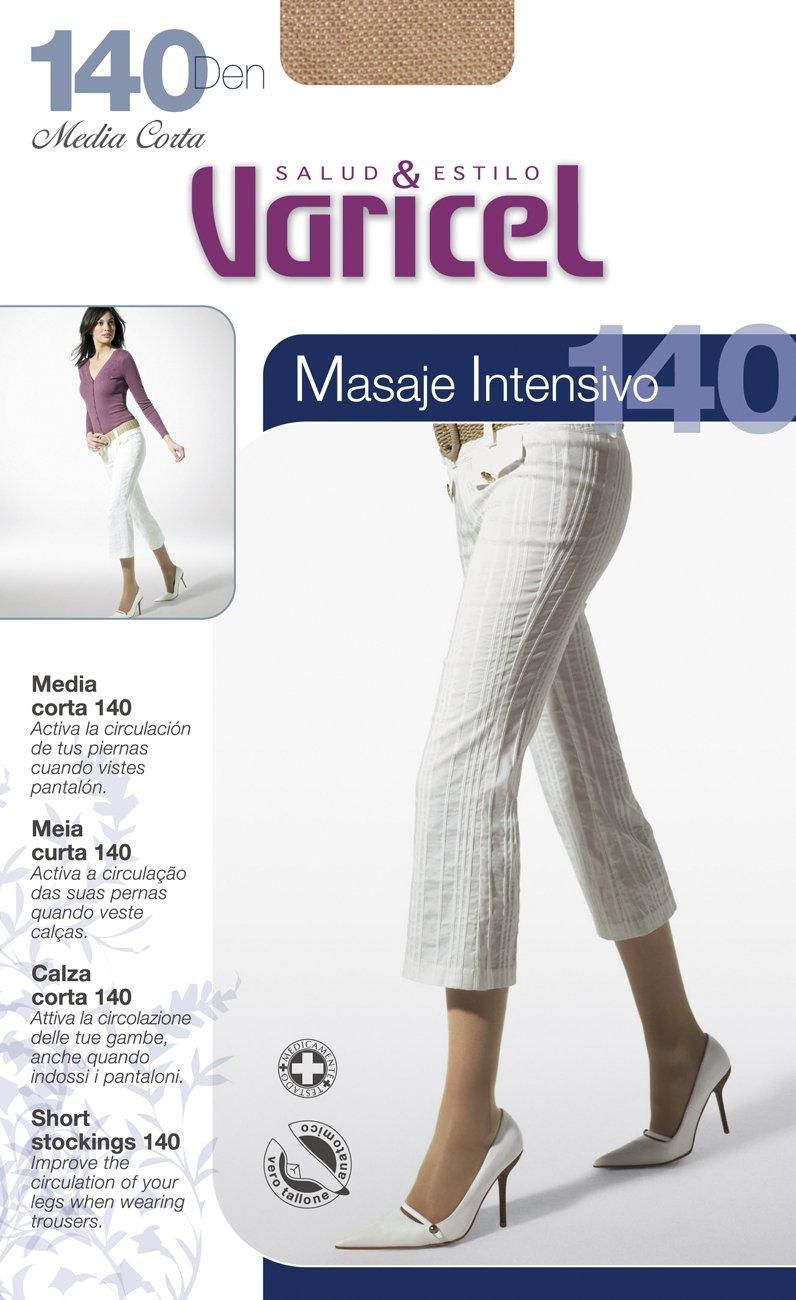 Media Corta 140 Varicel compresión fuerte 18/22 mmHg Banda Elástica Antipresión (MOKA, G): Amazon.es: Salud y cuidado personal