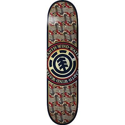 Element Origins Seal Skateboard Deck -7.6 - Assembled AS Complete Skateboard : Sports & Outdoors