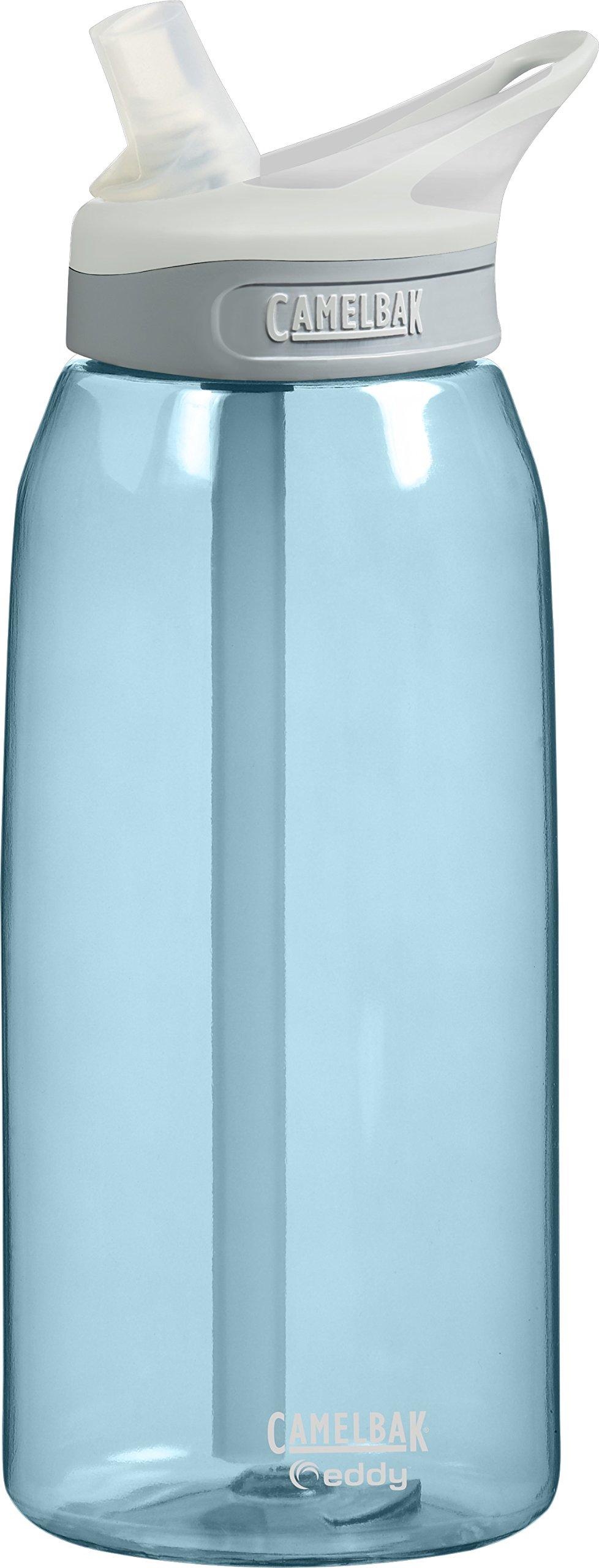 CamelBak Eddy Water Bottle, Sky Blue, 1-Liter