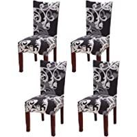 YISUN Dining Chair Slipcovers,[Scenery Series] Stretch Removable Washable Dining Chair Protector Cover Seat Slipcover Hotel,Dining Room,Ceremony,Banquet Wedding Party