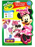 Crayola My First™ , Colour & Activity Book, Disney Minnie Mouse, 32 pages with stickers, Creative Play