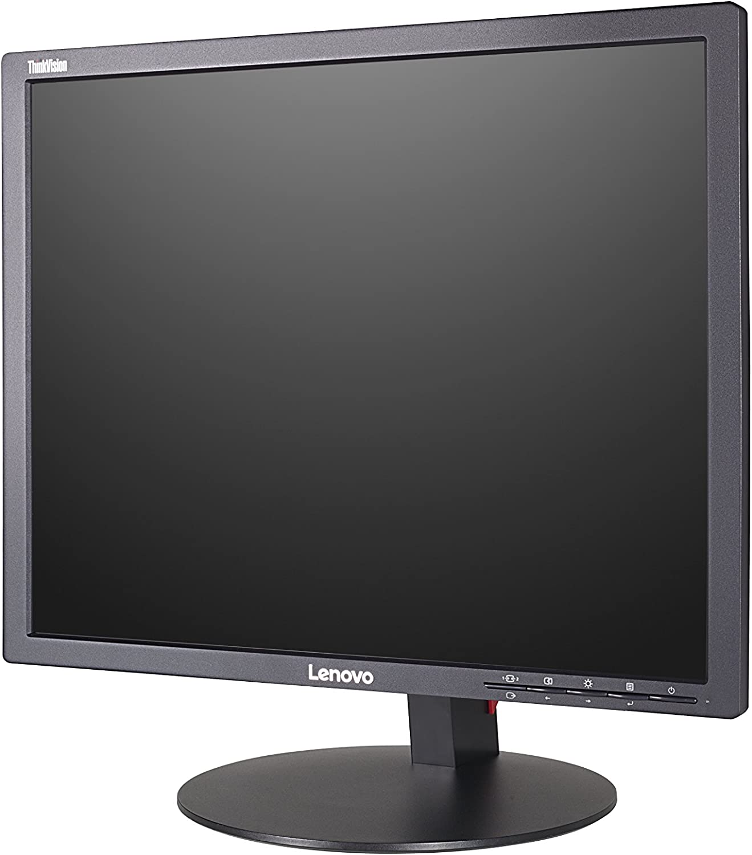 Black Computer Monitor LED 19 Lenovo ThinkVision LT1913P 1280 x 1024 @ 76 Hz