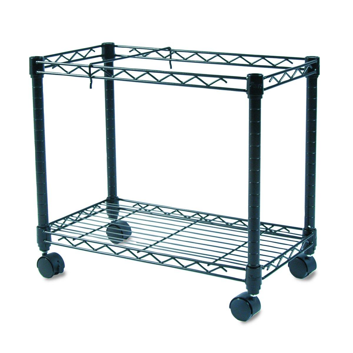 Amazon.com: Fellowes 45081 High-Capacity Mobile File Cart, 24w x14d ...