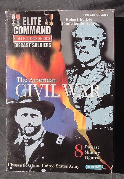 Elite Command 8 Die Cast Soldiers GENERALS Ulysses Grant /& Robert Lee Civil War
