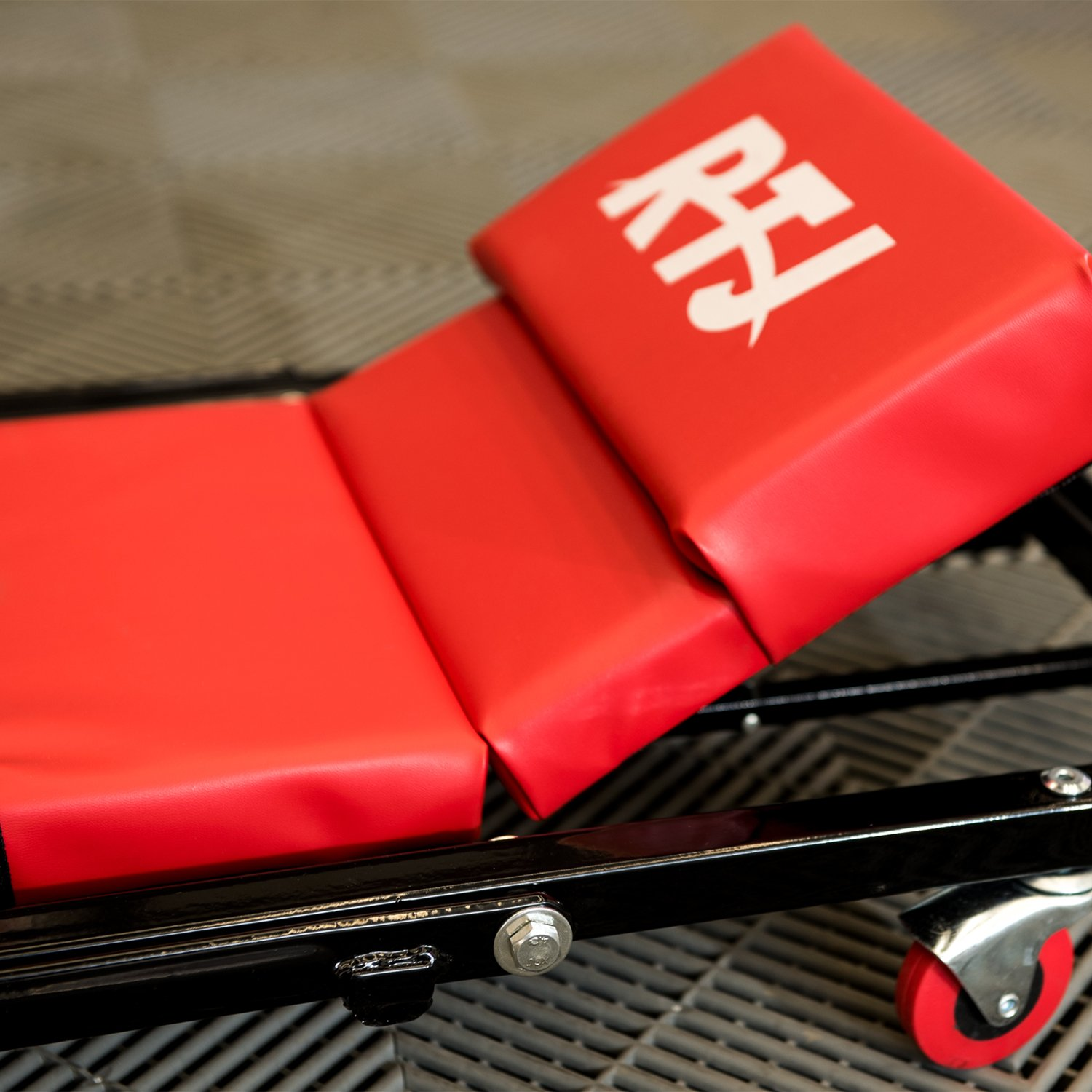 RTJ 47 Inch N-Creeper Seat with Adjustable Headrest, Red by RTJ (Image #6)