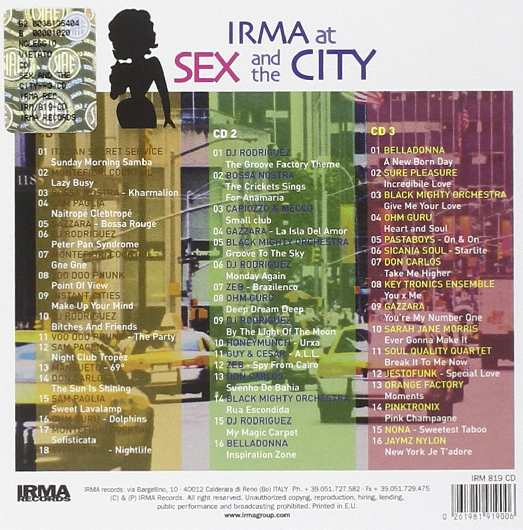 Sex and the City (3CD): Amazon.co.uk: Music