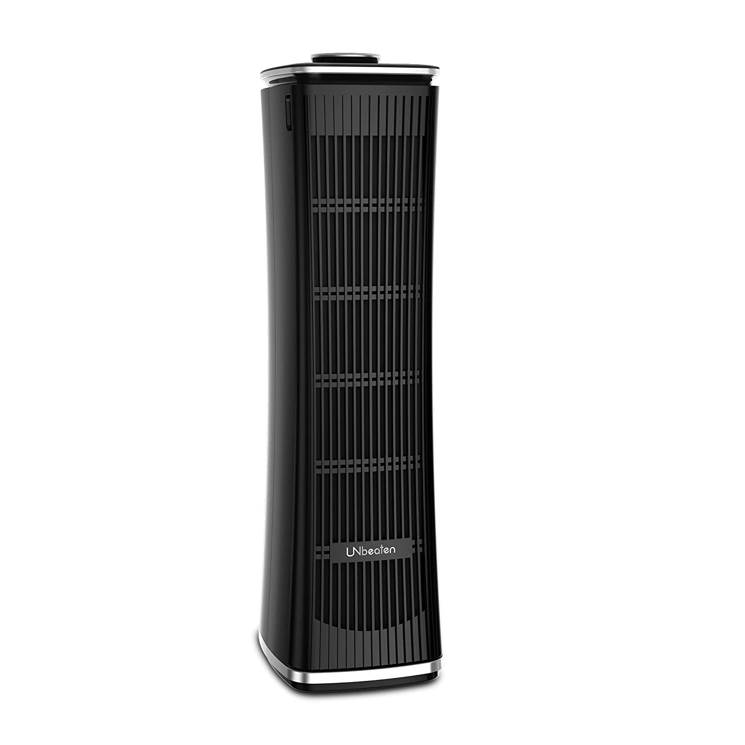 UNbeaten Tower Air Purifiers, True HEPA with Charcoal Air Filters, Allergen Reducing Air Cleaner, 3 Year Warranty,Odor Eliminator for Smokers, Traps Smoke, Dust, Mold, Home Pets Dander Purifying