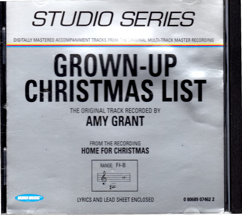 My Grownup Christmas List Lyrics.Studio Series Grown Up Christmas List Amazon Com Music