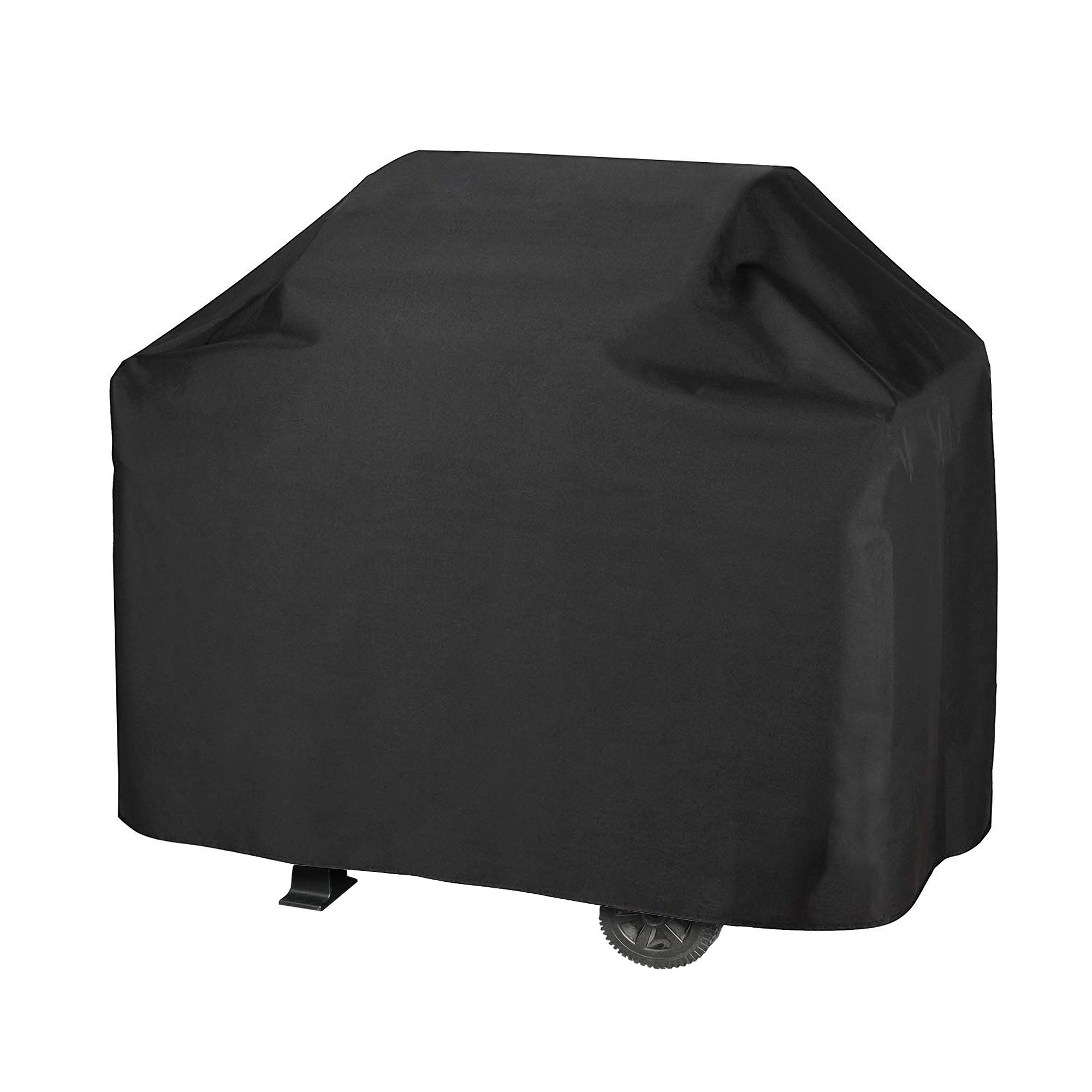iCOVER Grill Cover-55 Inch Water Proof Patio Outdoor Black BBQ Barbecue Smoker/Grill Cover G11602-1 for Weber Char-Broil Brinkmann Holland JennAir and More by i COVER