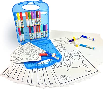 Amazon.com: Crayola Color Wonder Mess Free Coloring Kit, Gift for ...
