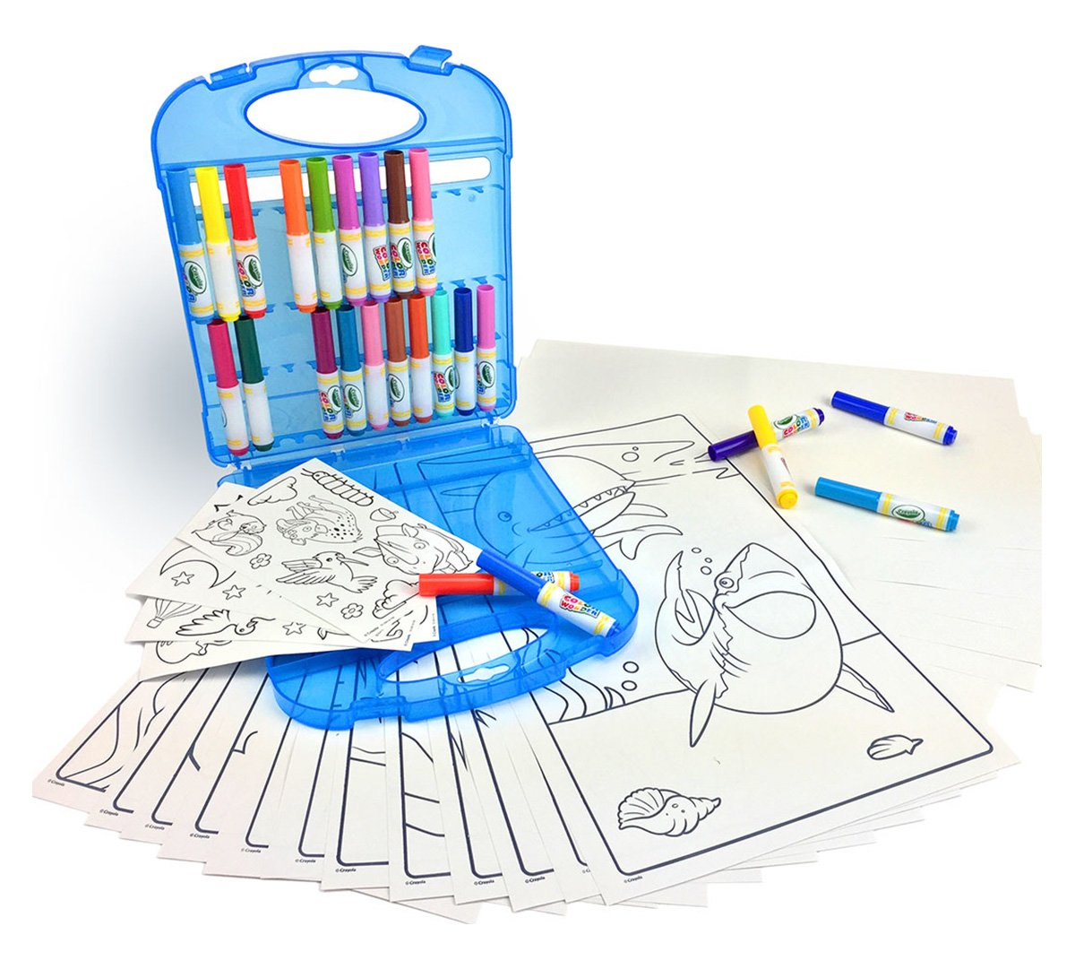 Crayola Color Wonder Mess Free Coloring Kit, Gift for Kids, 3, 4, 5, 6 (Amazon Exclusive)
