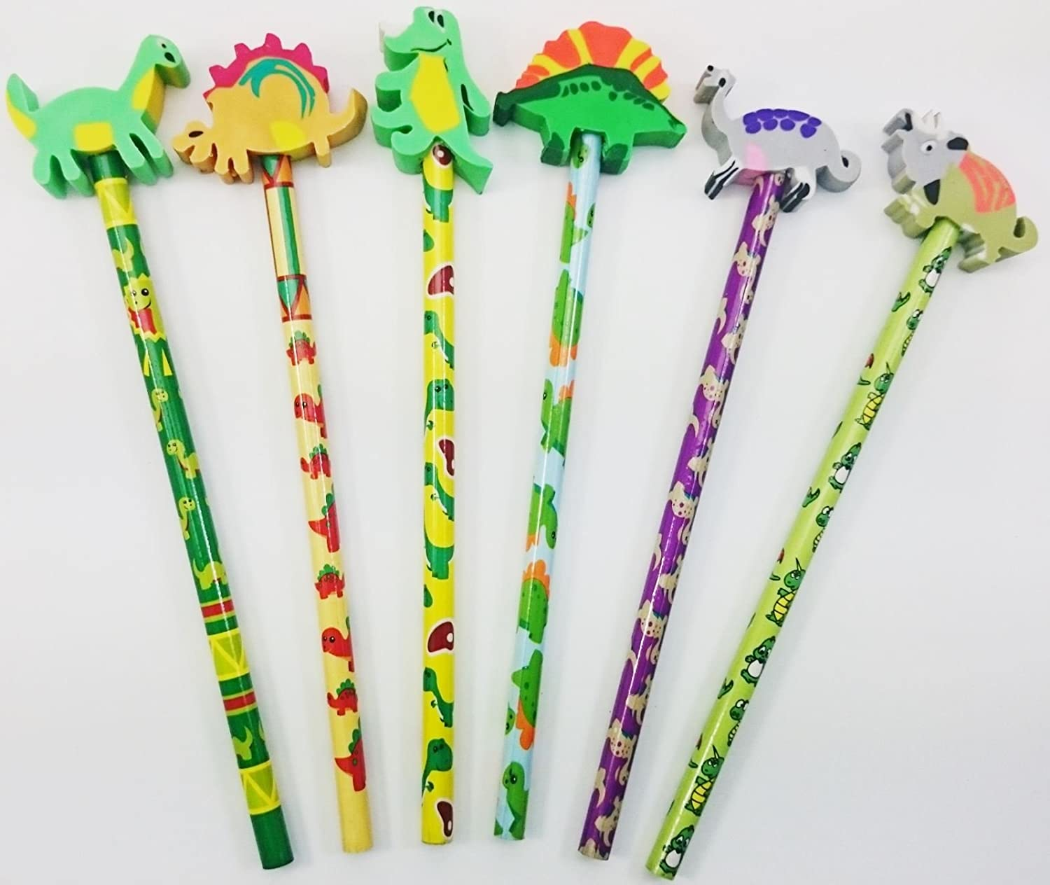 Children/'s Stationary Toys Gifts Dinosaur Pencils Choose Pack Size