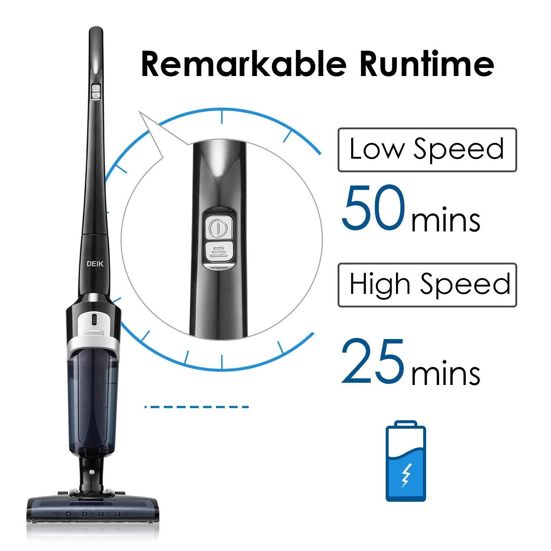 Deik Vacuum Cleaner, Cordless Vacuum