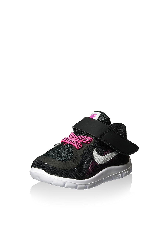 a0f1c7119b Nike Girl's Free 5.0 Running Shoes Black/Vivid Pink/Pink Pow/Metallic Silver(Size-8):  Amazon.ca: Shoes & Handbags