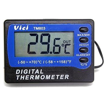 Nevera Congelador Alarma Termómetro digital para frigorífico Temperatura M