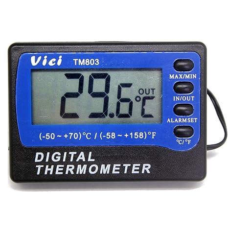 Nevera Congelador Alarma Termómetro digital para frigorífico ...