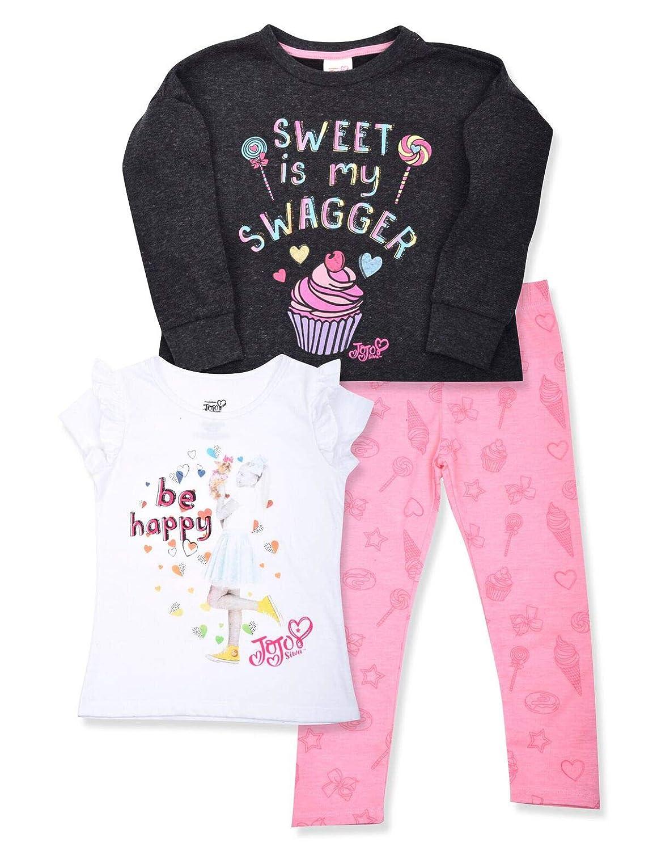 Nickelodeon Girls JoJo Siwa Clothing Set JoJo Siwa Hoodie Legging Tee Set