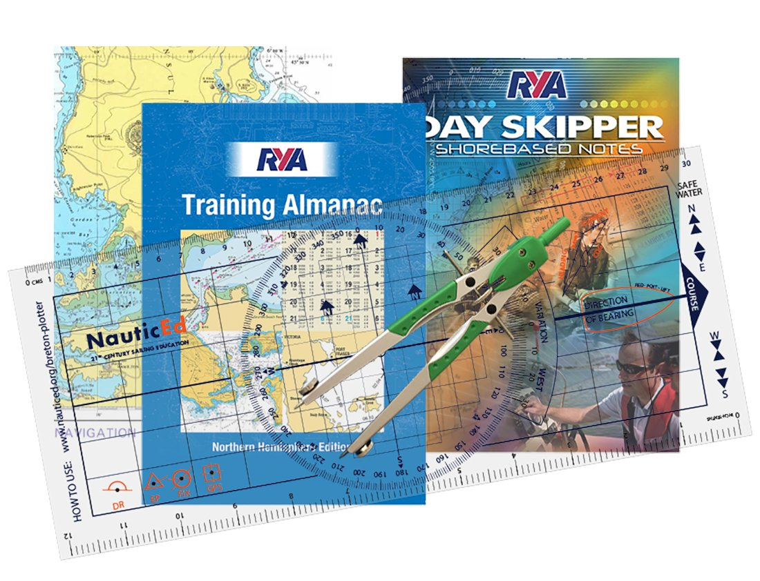 RYA Day Skipper Charts and Almanac