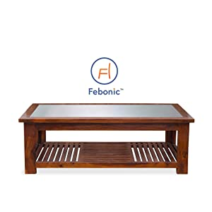 Febonic Lifestyle Coffee Table (Finish Dark Walnut)