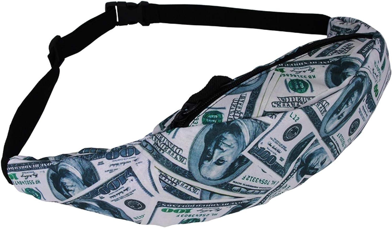 New Colorful Waist Bag For Men Packs Style Belt Bag Unicorn Women Waist Pack
