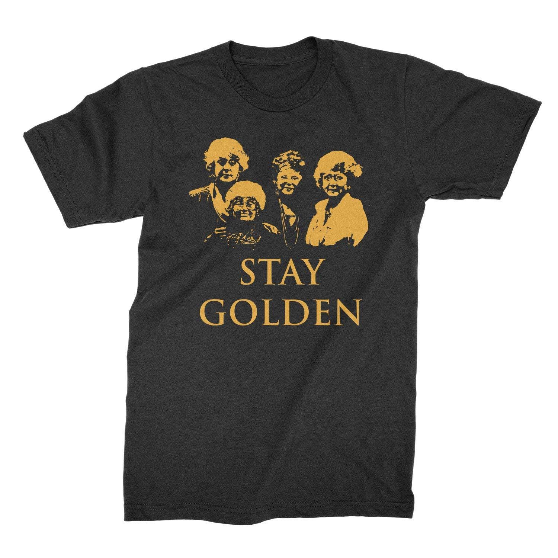 Stay Golden Tshirt Golden Girl Girls Shirt Stay Golden Shirt