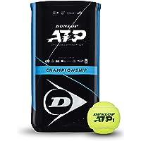 Dunlop Unisex 601363 piłka tenisowa ATP Championship-2X4 piłka rękaw dla zwierząt domowych, żółty, jeden rozmiar