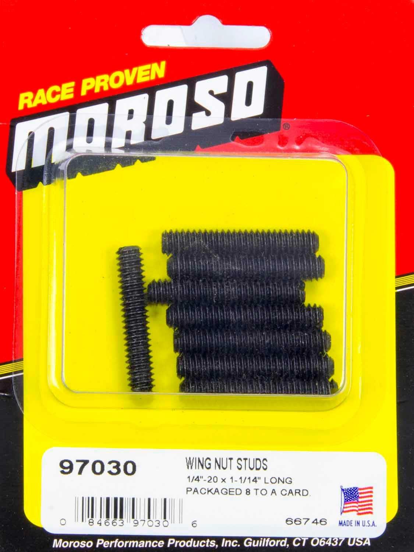 Moroso 97020 Wing Nut Studs