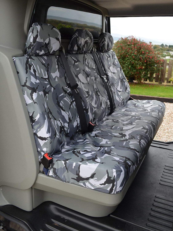 Van Demon Tailored Front Row Black Durable Waterproof Seat Covers VY23086