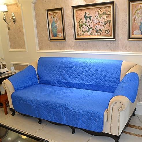 Volltonfarbe Sofabezug , Couch-Schutz für hund Amerikanischer Stil ...