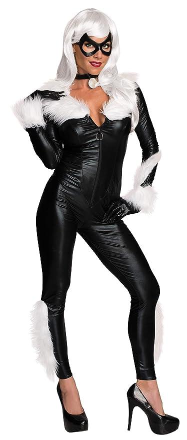 Secret Wishes Womens Marvel Universe Black Cat Costume, Black, Medium