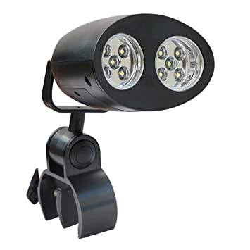 Ipow brillante bicicleta luz al aire libre barbacoa light-handle pantalla plana LED luz lámpara