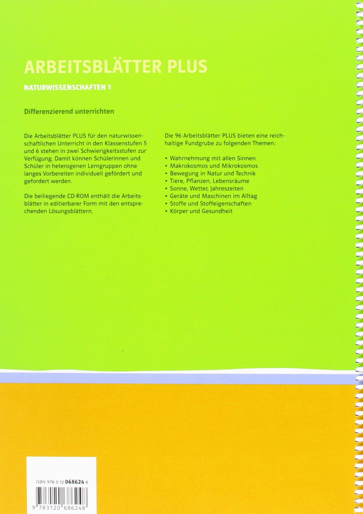 Naturwissenschaften 1: Arbeitsblätter PLUS, Differenziert ...