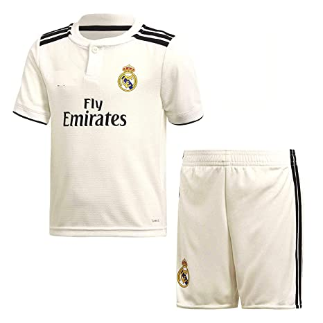 25925b894 Buy Real Madrid Home 2018-2019 Jersey kit for Adults - T Shirt and Shorts  Jersey Set Online at Low Prices in India - Amazon.in