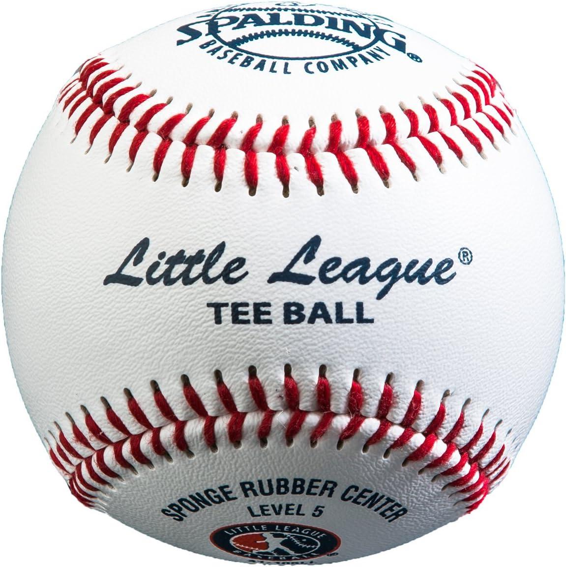 Spalding poco Liga® tee Pelota de béisbol (1 docena): Amazon.es ...