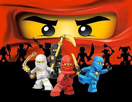 Ninjago Lego Ninja comestible hoja de imagen foto decoración ...