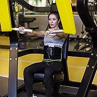 SZ-Climax Waist Trimmer Trainer Belt, Sweat Wrap Exercise Belt for Stomach Weight Loss Women Men Fitness Workout Sweat…