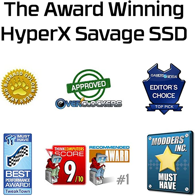 HyperX Savage SSD SHSS37A/960G - Disco Duro sólido Externo (960GB ...