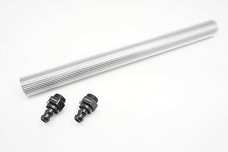 Image ofAutobahn88 Aluminio aceite y combustible más fresco bar Tube - 1.3 pies (40 cm), de 2 unidades M22 a AN10 empujeenlos adaptadores