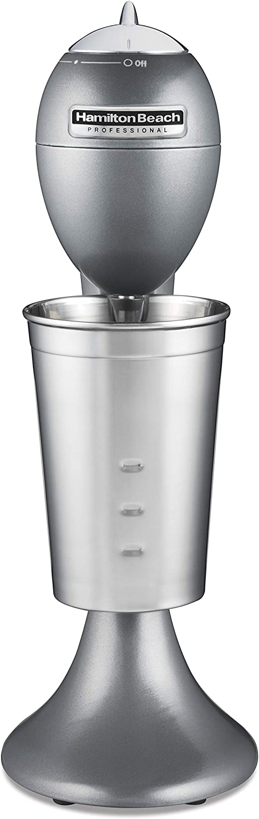 Hamilton Beach 65120 Classic All-Metal Smoothie and Drink Stand Mixer Gray