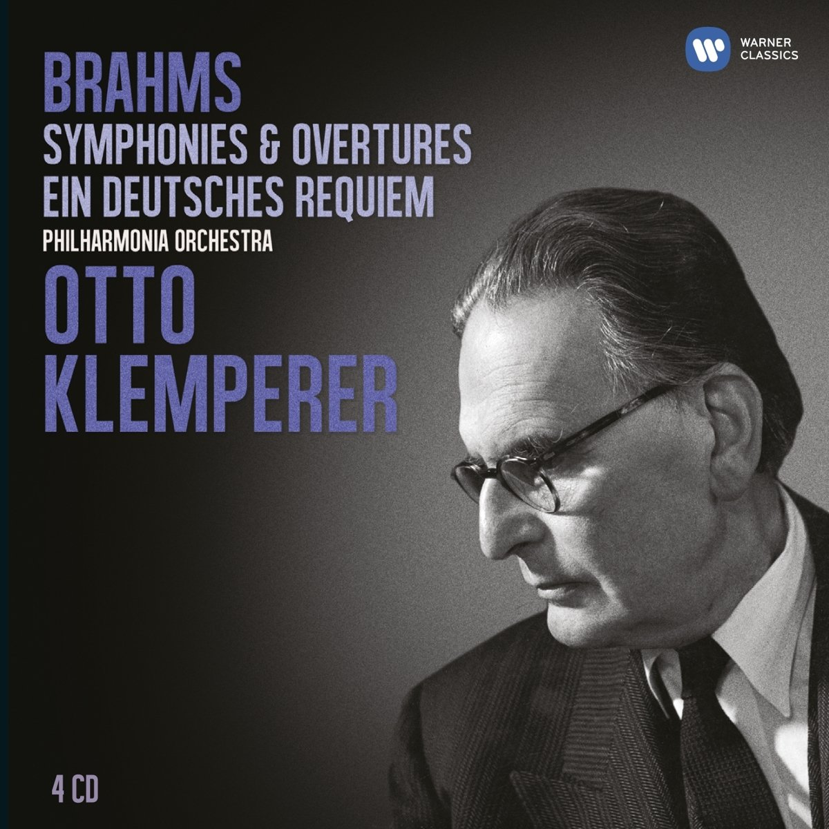 CD : Otto Klemperer - Brahms: Symphonies Ein Deutsch (Boxed Set)