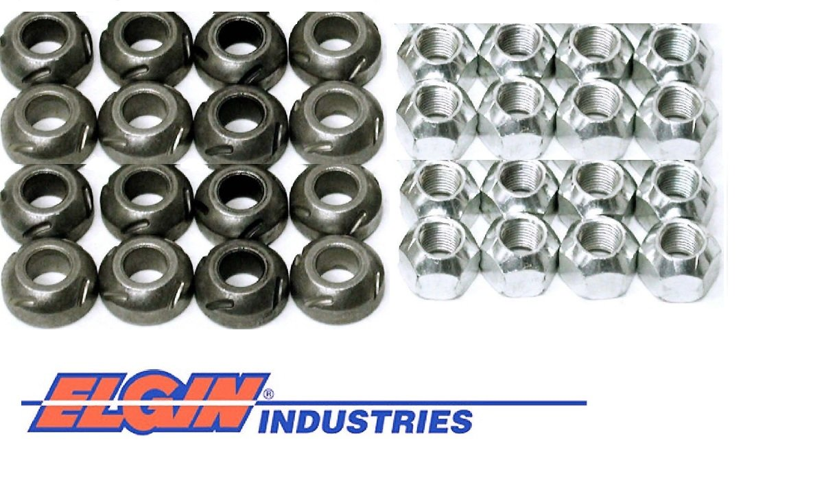 New Rocker Arm Grooved Pivot Ball /& Lock Nut Set Chevy sb 400 350 327 305 283 Pivot Ball /& Lock Nut